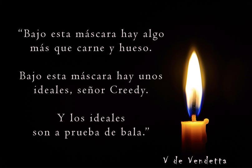 Frases de V de Vendetta