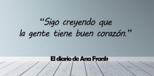 frases de El diario de Ana Frank