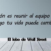 frases de El lobo de Wall Street