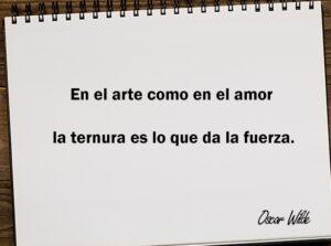 En el arte como en el amor