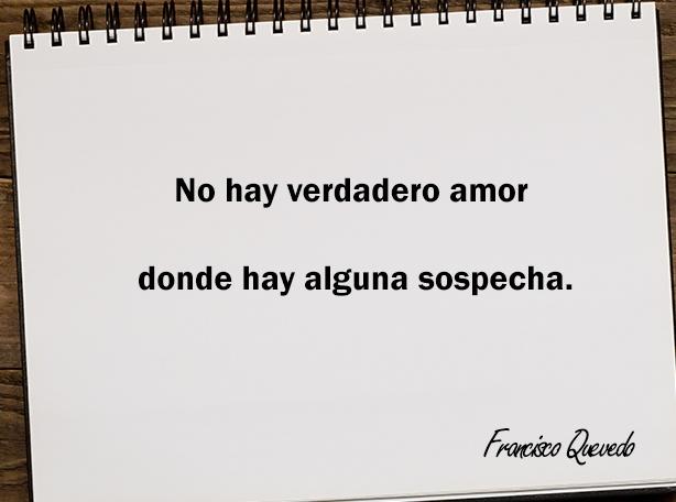 No hay verdadero amor