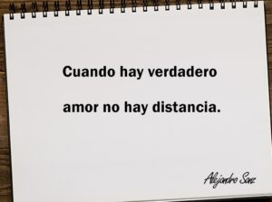 no hay distancia