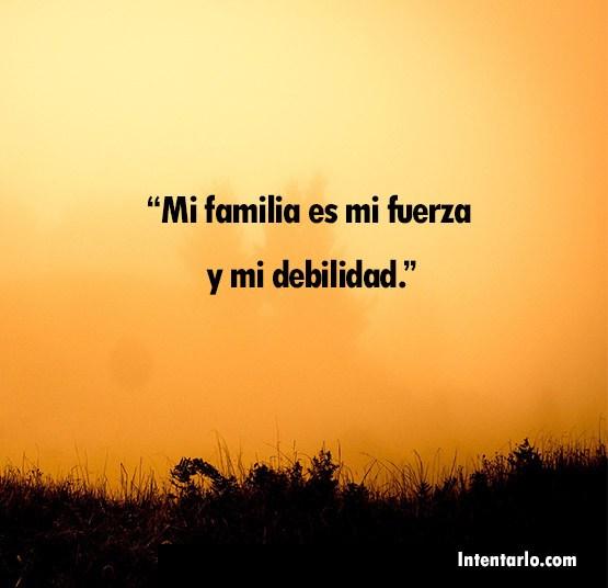 frases sobre la familia y familiares