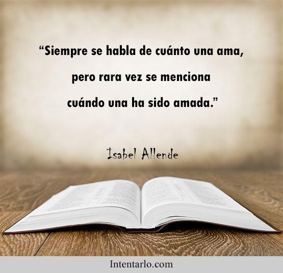 frases de isabel Allende amor