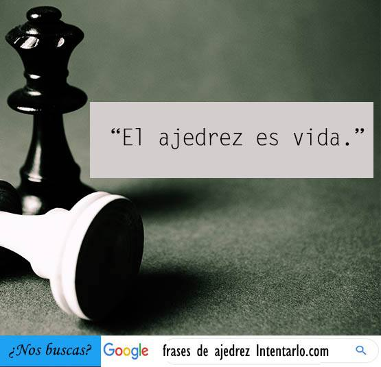 frases célebres de ajedrez