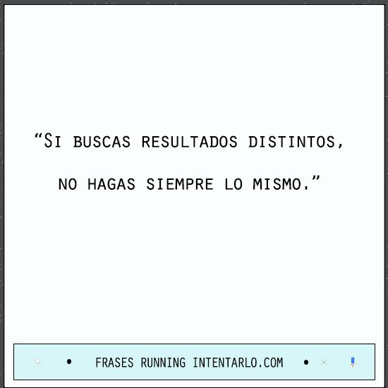 frases de correr