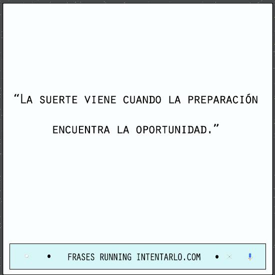 frases running